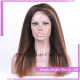 Самый лучший продавая парик шнурка горячих китайских человеческих волос продуктов полный