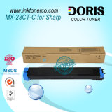 Tóner de la copiadora de color Mx23 Mx-2310u Mx-2616n Mx-3111u Mx-3116n para Sharp