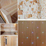 2017最も新しいデザイン贅沢な従来の文化石の乾燥したサウナ部屋