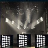 25PCS 15With30Wの段階の穂軸LEDのマトリックスの視覚を妨げるものの効果ライト