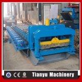Stahlbaumaterial-gewölbte Metalldach-Fliese, die Maschine herstellt