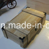 Neues Design und Hot Sell Wooden Wine Box (FJLW048)