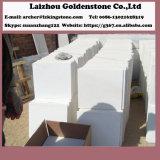 中国白いカラー雪の白い大理石はフロアーリングの卸売価格に投石する