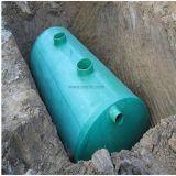 De horizontale Tank FRP GRP isoleert de Chemische Tank van de Tank van de Opslag FRP