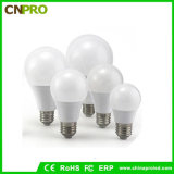 Ampoule économiseuse d'énergie 7W d'A60 DEL avec l'homologation de RoHS de la CE