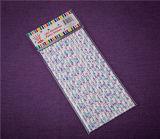 Papier couleur Papilloteuses Produits de fête Art Palmes en plastique
