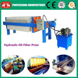 2016 macchine oleoidrauliche di cottura della pressa del filtro dell'olio della zolla