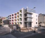 Apartamento claro da construção de aço de dois andares (KXD-38)