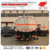 Carro de petrolero barato del transporte del combustible de petróleo del chasis del precio 6X2