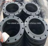 Norme ANSI modifiée de Steel B16.5 Slip sur Flange (peinture noire)