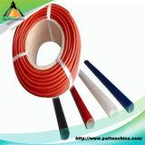 Manga de borracha de silicone trançada em fibra de vidro