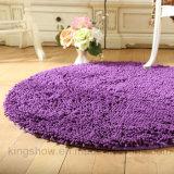 Chenille Microfiber Area Rug Floor Carpet para el sitio (80R)