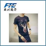 선전용 동향 t-셔츠 또는 주문 t-셔츠 또는 남자 t-셔츠