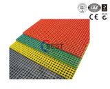 решетка черноты FRP 38*38*30mm желтая серая