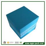 Promoción del diseño simple de almacenamiento de madera caja de regalo