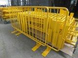 Divisória provisória do engranzamento provisório provisório da isolação da cerca/cerca móvel