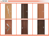 Interior de madera de la puerta del PVC del MDF del precio barato (SC-P115)