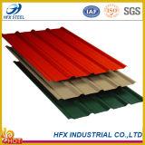Feuille de toit pour les matériaux de toiture en acier ondulés de couleur