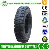 Hochleistungs5.00-12 Motorrad-Gefäß-schlauchloser Gummireifen-Reifen für Geschäftemacher drei