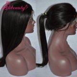 Schnelle Peruaner-Jungfrau-Haar-mittlere Größen-volle Spitze-Perücke der Anlieferungs-100%