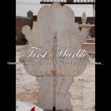 De antieke Fontein van de Muur van de Leeuw van de Travertijn voor een Gift mf-860
