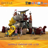 Outdoor Playground Equipment de Pirate Ship Série enfants