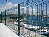 Dreieck ISO-9001, das geschweißtes Ineinander greifen-Zaun verbiegt
