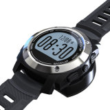 GPSの心拍数、圧力、環境の温度、高さの屋外のスマートなスポーツの腕時計