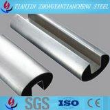 Tubo de acero inoxidable/tubo Polished para las barandillas de la escalera