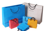 Kraft 인쇄 종이 봉지 쇼핑 선물 아트지 운반대 은행 Classifing 광고 전송을%s 장식용 보석 패킹 부대 (d10)