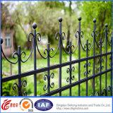 Clôture décorative de garantie de fer travaillé de qualité