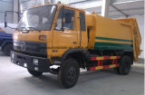 155のKw 6は屑がトラックをエクスポートのための12のTのガーベージのコンパクターのトラック集める12トンを動かす