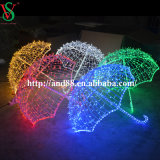 Im Freien3d Decorative LED Umbrella