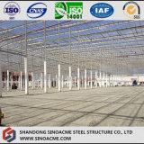 Alto gruppo di lavoro di Peb della struttura d'acciaio di aumento dell'ampia luce