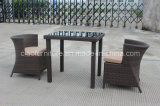 Cafetaria original Table e Chairs de Design Rattan Made