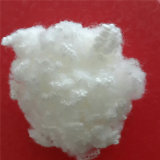 15D * 64mm Super White Hollow Conjugated Siliconized Fiber