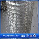 塗られたPVCは販売の溶接された金網に電流を通し、