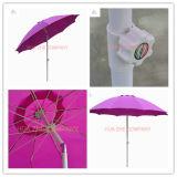 9FT Faser-Glas-Sonnenschirm-Patio-Regenschirm-im Freiengarten-Regenschirm