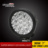 90W Jeep Offroad Waterproof 7 Inch LED Work Lamp