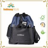 2016新しいデザインによってパッドを入れられるドローストリングの学校のバックパック、有名なブランドの学校の芸術袋