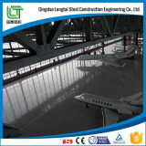 Costruzione d'acciaio prefabbricata del capannone