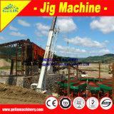 Terminar o equipamento de mineração aluvial do Cassiterite para processar o minério do Cassiterite do depósito de África