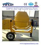 mezclador de cemento movible del tambor de acero 750L