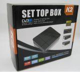 Satellitenfernsehen-Empfänger mit HD DVB-T2 K2 STB MPEG4 DVB-T2 K2