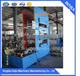 Prensa de curado de goma/prensa de vulcanización de la placa/máquina de vulcanización de goma