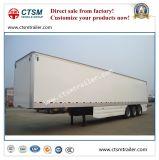 냉장된 열 상자 또는 밴 Type Semi 트럭 트레일러