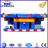 3개의 차축 플래트홈 골격 해골 콘테이너 수송 트럭 트레일러