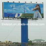Grande tamanho Pólo que anuncia o quadro de avisos de Trivision (F3V-131S)