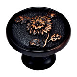 Lo stile antico ha forgiato la maniglia d'ottone di tiro del hardware della mobilia