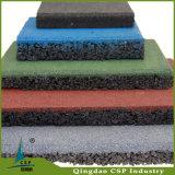 Плитки цветастого пола спортивной площадки резиновый для спортивной площадки малышей
